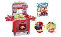 G21 Superior Dětská kuchyňka s příslušenstvím červená