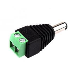 Konektor TLE napájecí se svorkovnicí  DC - samec