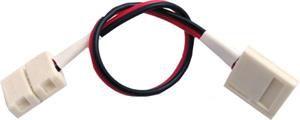 Konektor TLE pro LED pásek 8mm - oboustranný