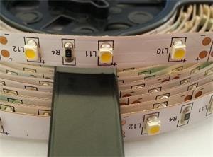 LED pásek TLE SMD 3528, 60LED/m, 5m, neutrální bílá, IP50, 12V