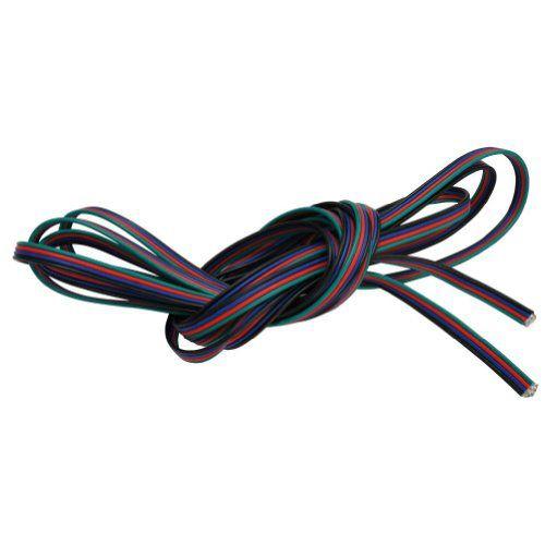 Kabel TLE plochý pro RGB pásek (balení 10m)