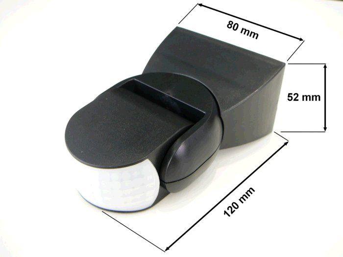 Čidlo TLE pohybové IR, 300-1200W, IP65, 230V - bílé