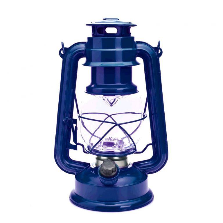 LED lampa MacTronic RETRO kempingová - modrá