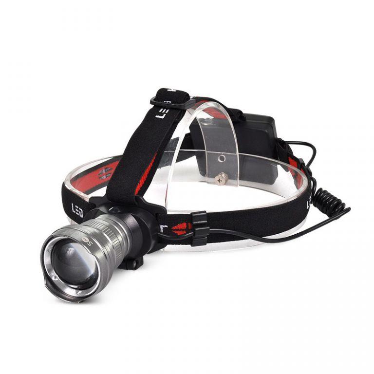 LED čelovka Solight WH21 300lm, Cree XPG R5, fokus, 3x AA
