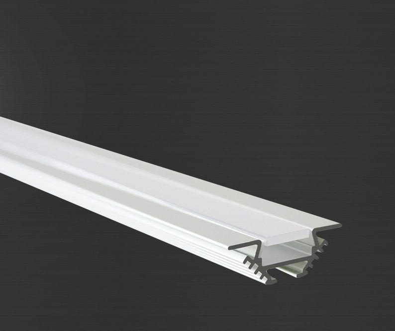 Hliníkový profil Prowax PAC - ALU anodizovaný, bez difuzoru - 2m