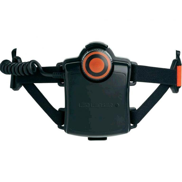 LED čelovka LED Lenser  H7R.2 1x Li-Ion akumulátor, USB kabel, adaptér 230V