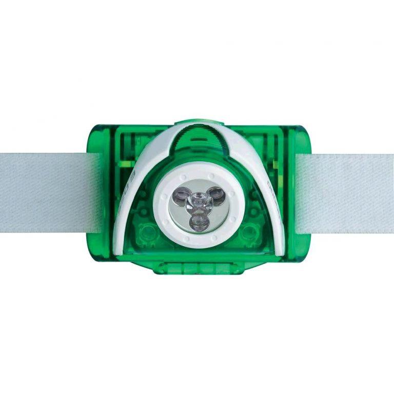 LED čelovka Ledlenser  SEO3 zelená, 3x AAA