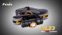 LED čelovka Fenix HL23 pro běžce na kempování i turistiku