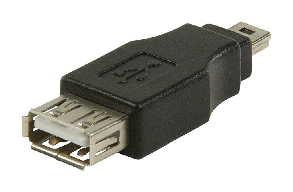 Adaptér USB 2.0, USB Mini 5-pin zástrčka