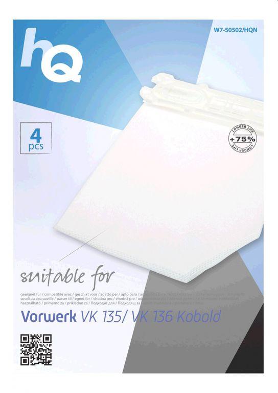 Sáčky HQ pro vysavače Vorwerk 135 136 Kobold