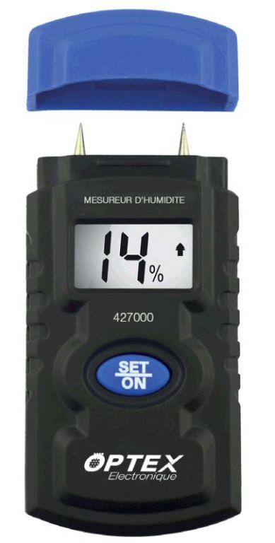 Měřící přístroj Optex 427000 Digitální měřič vlhkosti MH427