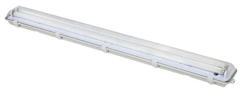 Svítidlo Solight WO512 prachotěsné G13, pro 2x 120cm LED trubice, IP65, 127cm