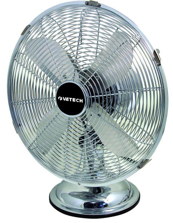 Ventilátor Velamp BORA stolní, kovový