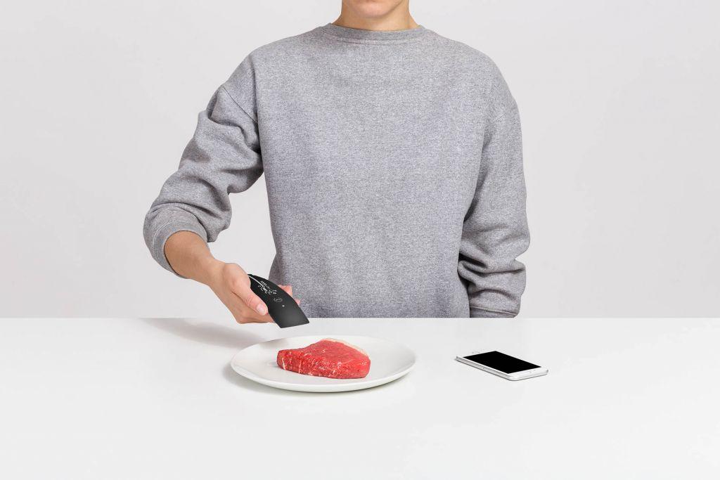 Detektor FOODsniffer na čerstvost masa, černý