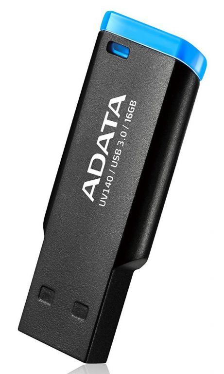 Flashdisk Adata USB 3.0 DashDrive Choice UV140 16GB černo - modrý