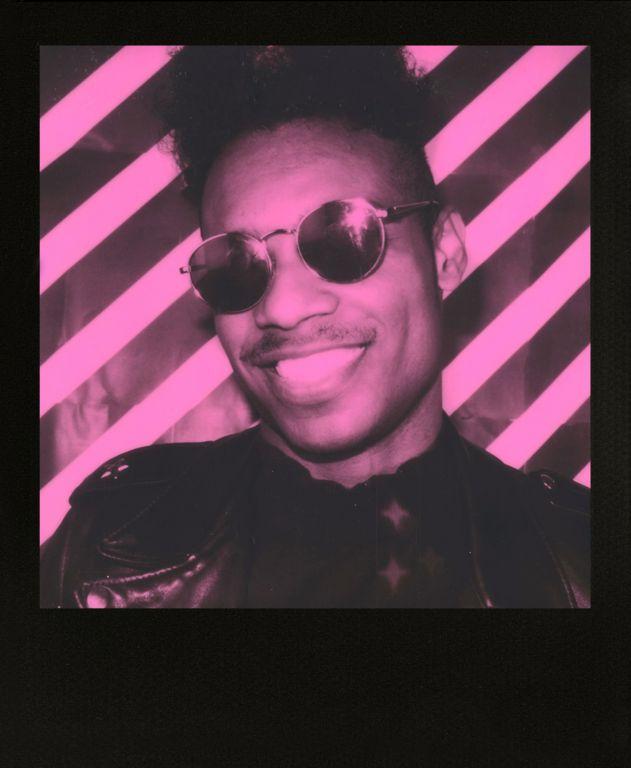 Instantní film Polaroid Originals 600 pro fotoaparát 600, 8 fotografií, černorůžové + černé rámečky