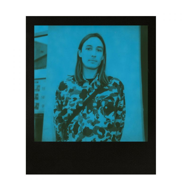 Instantní film Polaroid Originals 600 pro fotoaparát 600, 8 fotografií, modré + černé rámečky