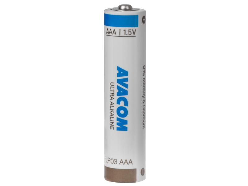 Baterie Avacom Ultra 1,5V AAA, alkalická (LR03) balení 4ks - nenabíjecí