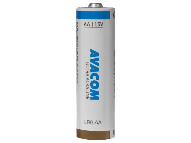 Baterie Avacom Ultra 1,5V AA, alkalická (LR6) balení 4ks - nenabíjecí