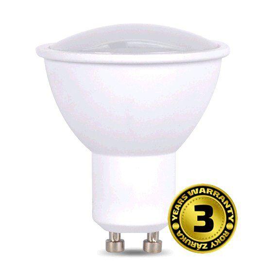 Žárovka Solight WZ314A bodová , 3W, GU10, 3000K, 260lm, teplá bílá
