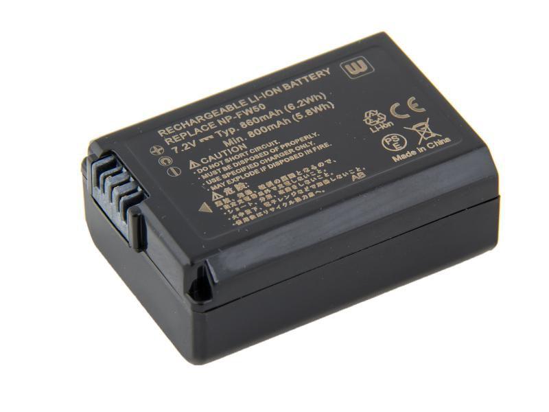 Baterie Avacom Sony NP-FW50 Li-Ion 7.2V 860mAh 6.2Wh - neoriginální