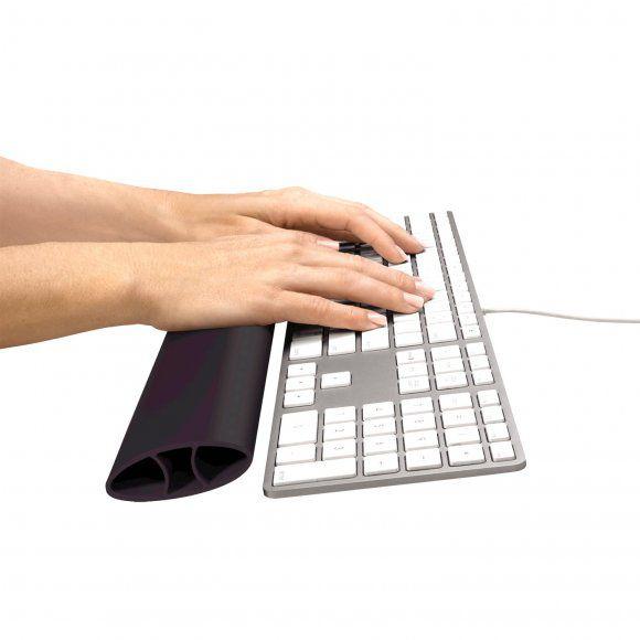 Podložka Fellowes I-Spire Rocker před klávesnici silikonová, černá