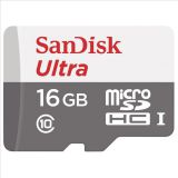 Paměťová karta Sandisk Ultra microSDHC 80 MB/s Class 10 UHS-I 16GB