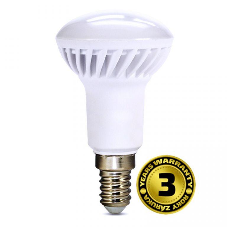Žárovka Solight LED WZ413 5W, E14, 3000K, 400lm, bílé provedení