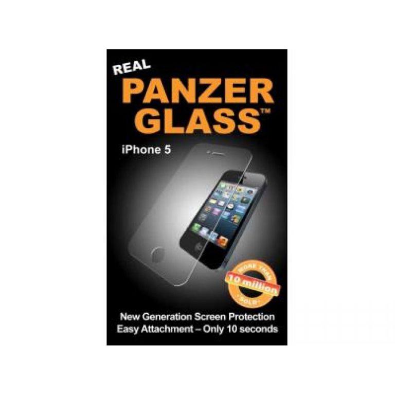 Tvrzené sklo PanzerGlass Edge-to-Edge pro Apple iPhone 5/5S/5C/SE čiré