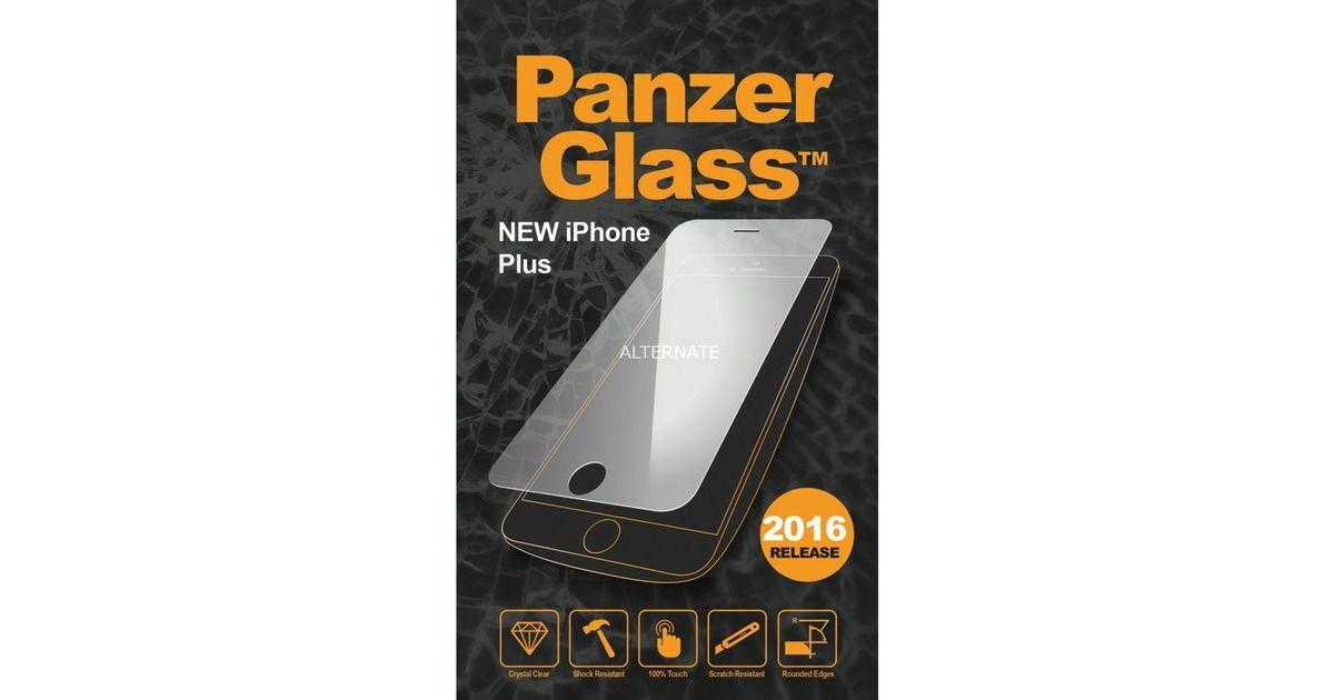 Tvrzené sklo PanzerGlass Standard pro Apple iPhone 6/6s/7/8 Plus čiré