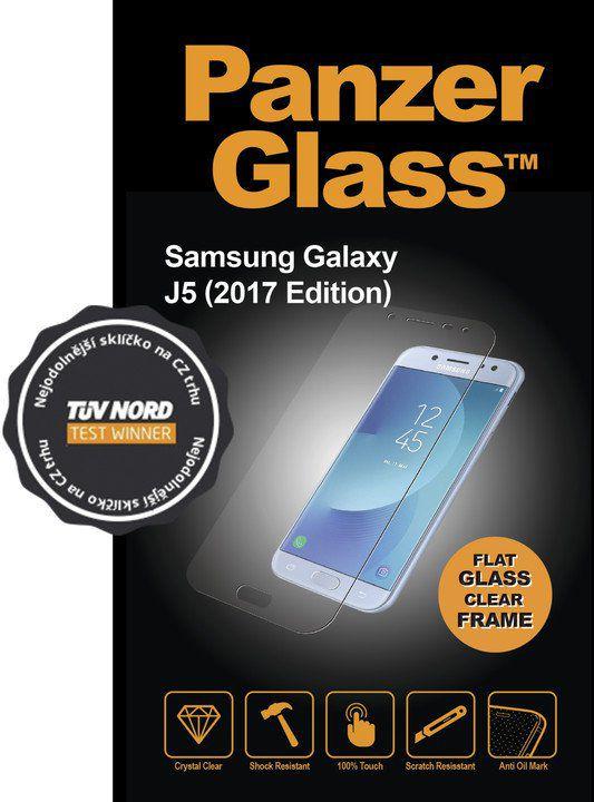 Tvrzené sklo PanzerGlass Edge-to-Edge pro Samsung Galaxy J5 (2017) čiré