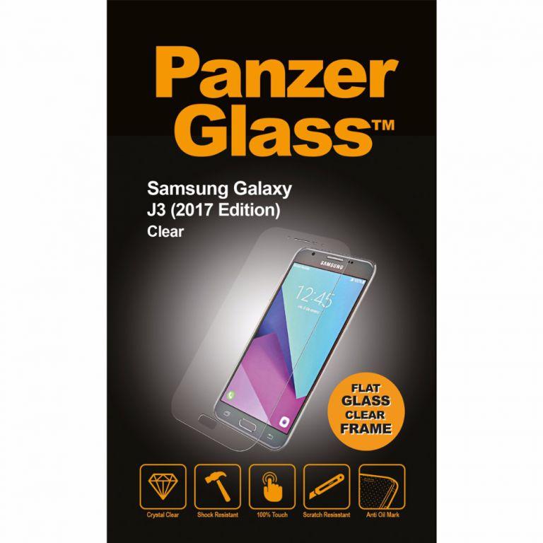 Tvrzené sklo PanzerGlass Edge-to-Edge pro Samsung Galaxy J3 (2017) čiré