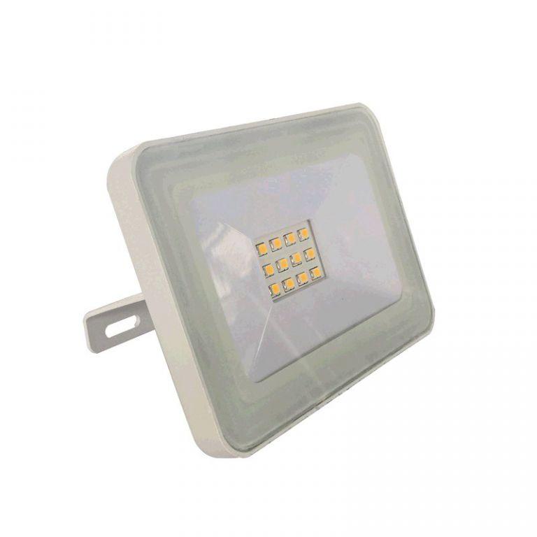 Reflektor Lumenmax LED FL10-SL-CW venkovní, 10W, 840lm, AC 230V, 6000K, bílý