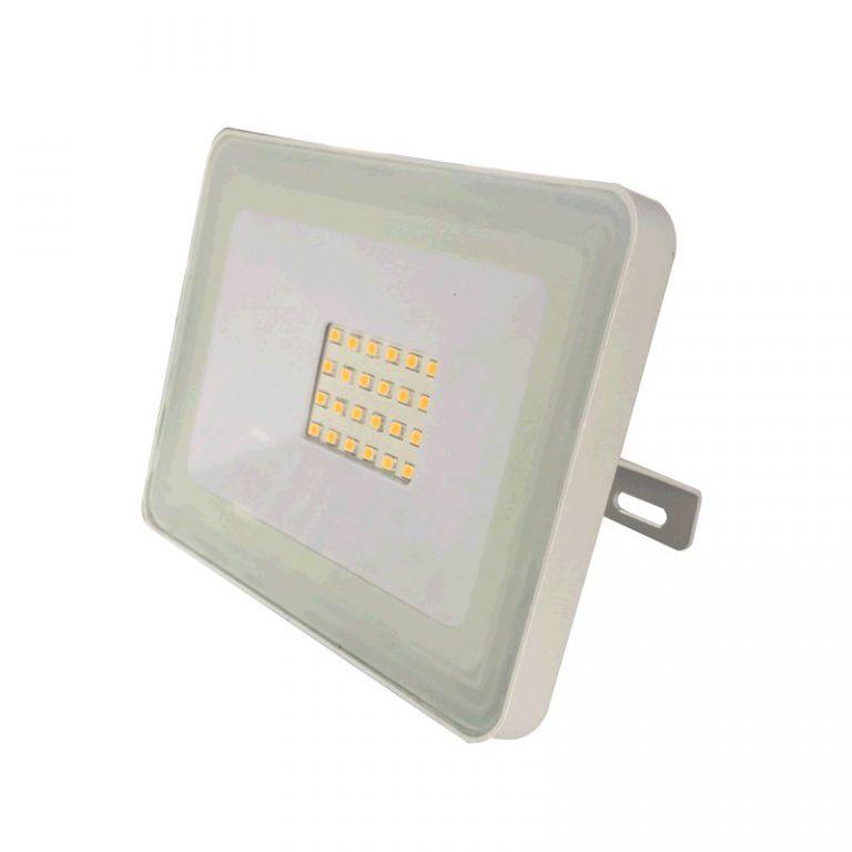Reflektor Lumenmax LED FL20-SL-WW venkovní, 20W, 1640lm, AC 230V, 3000K, bílý