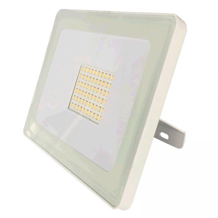Reflektor Lumenmax LED FL50-SL-WW venkovní, 50W, 4200lm, AC 230V, 3000K, bílý