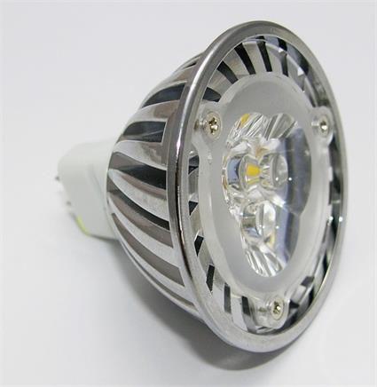 Žárovka G21 LED G5.3/MR16 3SMD, 12V, 3W, 240lm, teplá bílá