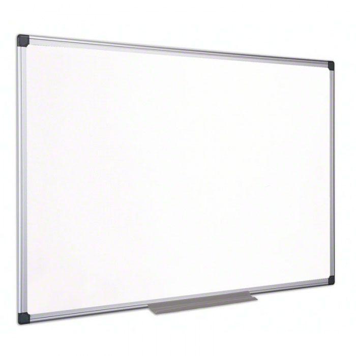 Tabule magnetická White board Classic 90x120cm, lakovaný povrch, hliníkový rám