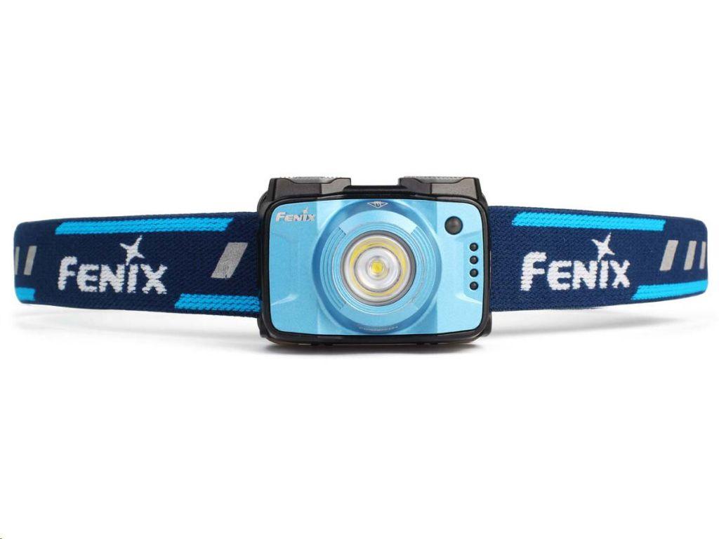LED čelovka Fenix HL12R interní baterie, modrá