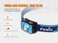 LED čelovka Fenix HL12R interní baterie, fialová