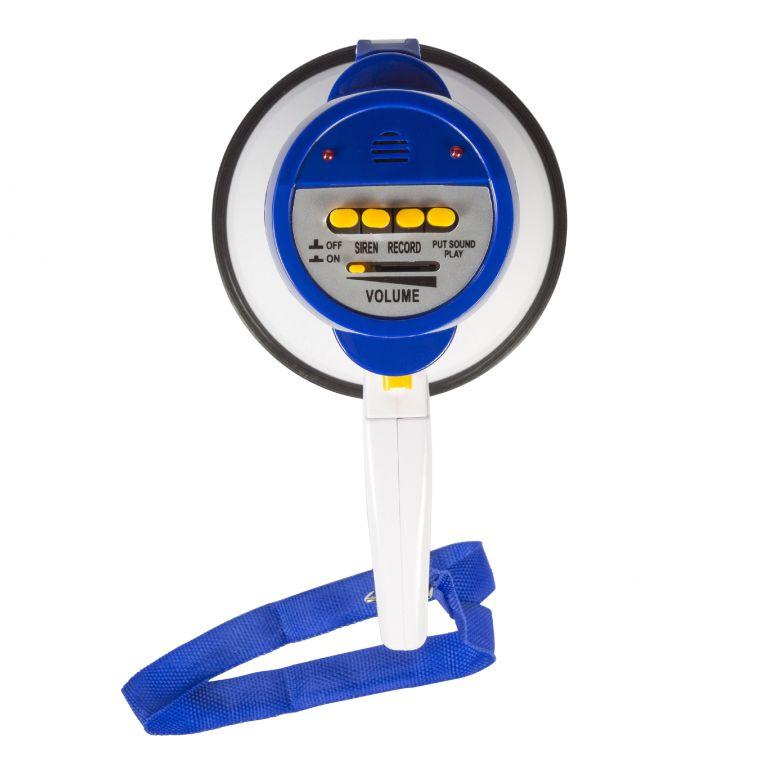 Megafon Sweex Megaphone 10, 10 W, vestavěná siréna a nahrávání