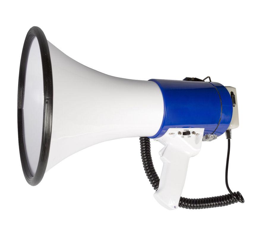 Megafon Sweex Megaphone 25, 25 W, vestavěná siréna a nahrávání
