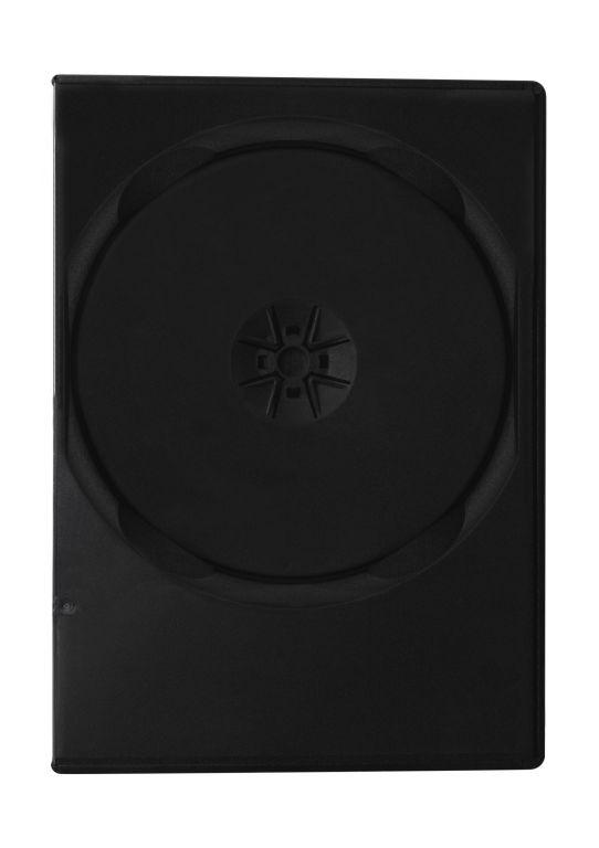 Obal 2 DVD 9mm slim černý - karton 100ks