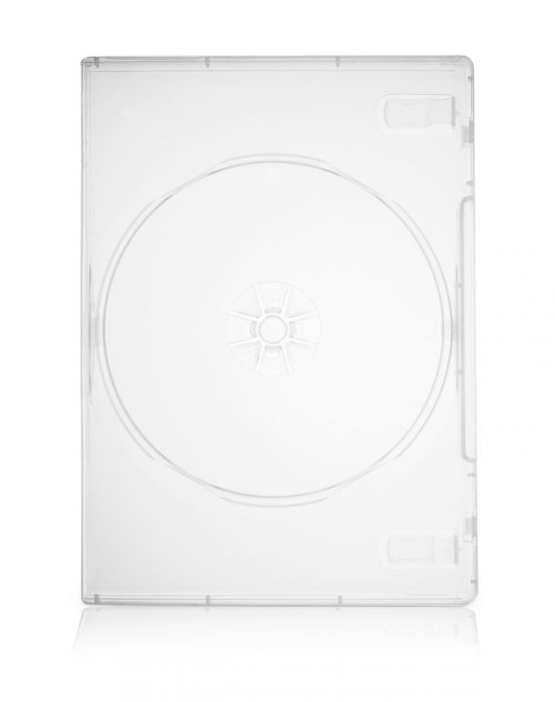 Obal 1 DVD 14mm super čirý - karton 100ks