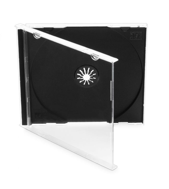 Obal 1 CD 10mm jewel box + tray – karton 200ks