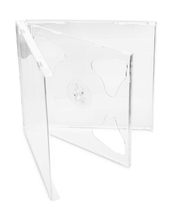 Obal 2 CD 10mm jewel box + tray čirý – karton 200ks