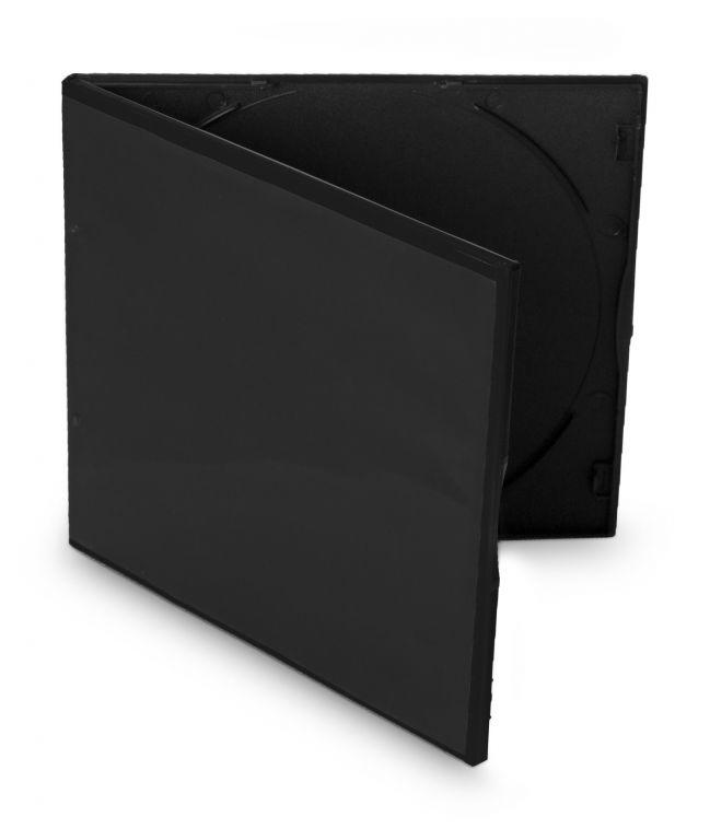 Obal 1 VCD 5,2mm slim černý 10ks/bal