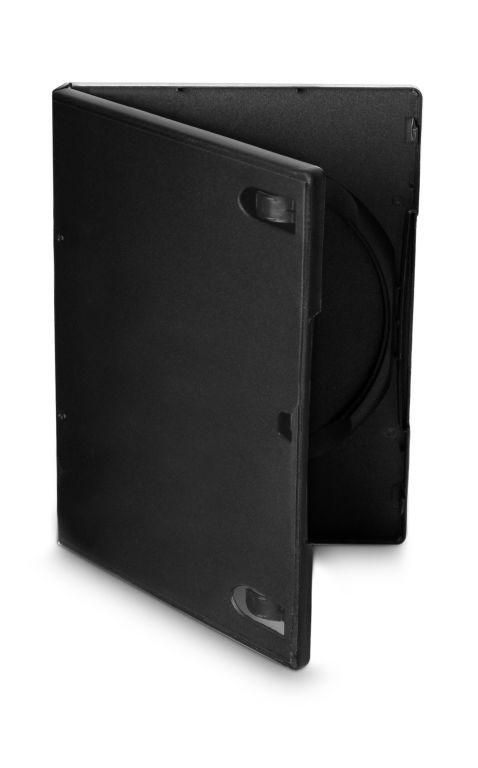 Obal 1 DVD 14mm černý 10ks/bal