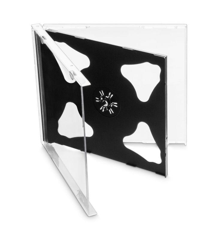 Obal 2 CD 10mm jewel box + tray 10ks/bal