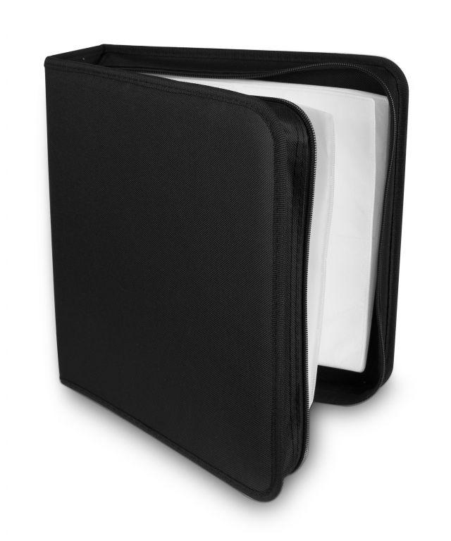 Pouzdro na 200 CD zapínací černé