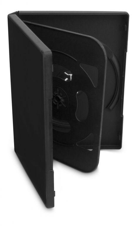 Obal 4 DVD 19mm černý 5ks/bal